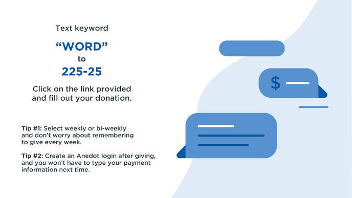 Slides—Text-to-Give-Anedot